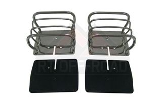 Euro Guard Set (Stainless) (8660ST/RT34090 / JM-00191 / RT Off-Road)