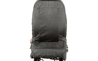 Elite Ballistic Seat Cover Set, Front, Black; 07-10 (13216.01 / TF4850 / JM-04107 / Rugged Ridge)