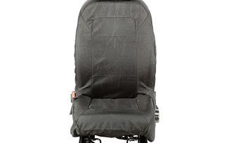 Elite Ballistic Seat Cover Set, Front, Black; 07-10 (13216.01 / JM-04107 / Rugged Ridge)