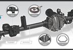 Ultimate Dana 44 Front Axle, 4.56, ARB, RHD, JK (RHD-10048822 / JM-04361 / Dana Spicer)
