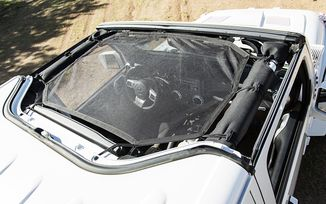 Hard Top Sun Shade, JK (13579.10 / JM-04482 / Rugged Ridge)
