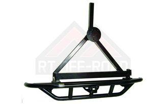 Rear Rock Crawler Bumper w/ Tire Carrier (RC001 / JM-00531 / RT Off-Road)