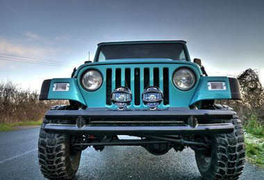 Front Bumper, Black Double Tube (B8449/RT20008 / JM-00308 / RT Off-Road)