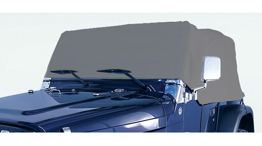 Deluxe Cab Cover, 76-06 Jeep CJ & Wrangler (13321.02 / JM-00727 / Rugged Ridge)