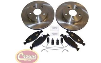 Disc Brake Service Kit (Front WJ) (52098672KE / JM-00555 / Crown Automotive)
