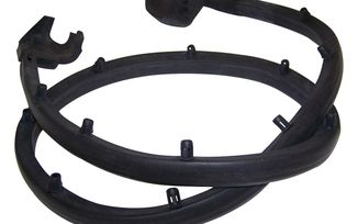 Weatherstrip, Half Door (Left) (55009829 / JM-03675 / Crown Automotive)