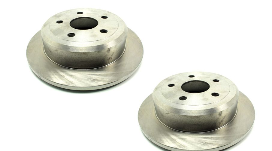 Brake Discs / Rotors (Rear Pair), JK (J5BM47603R / JM-04460 / Allmakes 4x4)