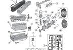 Cam Shaft, 4.2L (J8133009 / JM-01276 / Crown Automotive)