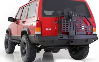 Rear Recovery Bumper with Hitch and Tyre Carrier, XRC, Cherokee (76851 / JM-02988 / Smittybilt)