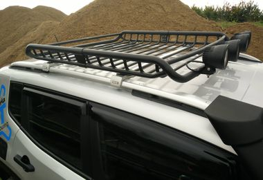 Roof Basket And Roof Bar Kit, Renegade (TF4225 / JM-04445 / Terrafirma)