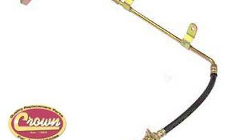 Brake Hose (WJ Rear Center) (52128096AB / JM-00609 / Crown Automotive)