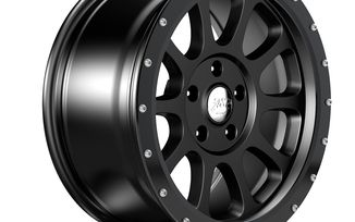 "18"" WR10 Black Anodized Wheel Ring (1458.51 / JM-04550 / DuraTrail)"