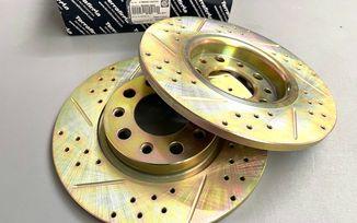 Rear Performance Brake Disc / Rotor (Pair), 278mm, Cherokee KL (4779885AC/J1BM48149 / JM-05711 / Terrafirma)