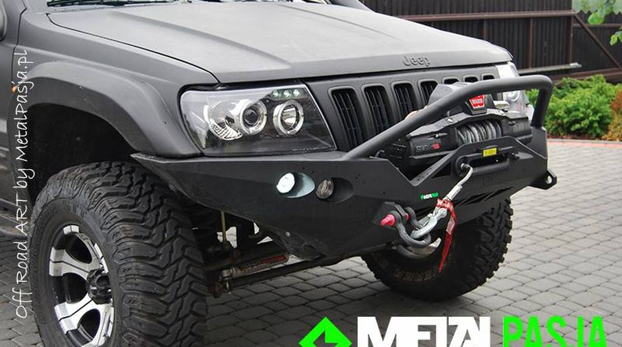 Front Recovery Winch Bumper Ironman Wj Jeepey Jeep Parts Spares And Accessories