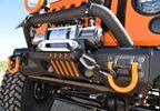 Front Recovery Bumper, XHD Aluminium (Winch Mount) (11541.01 / JM-02632 / Rugged Ridge)