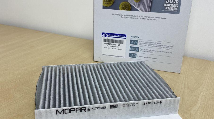 Cabin Filter (Anti-Allergen) (71778552 / JM-05827 / Mopar)