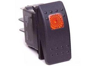 Rocker Switch, Orange (DAYKU80013 / JM-03083 / Daystar)