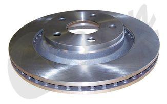 "Brake Rotor (Front), 13"", JK (68040177AA / JM-04043 / Crown Automotive)"