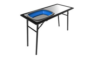 Pro Stainless Steel Prep Table With Foldaway Basin (TBRA028 / JM-04783 / Front Runner)