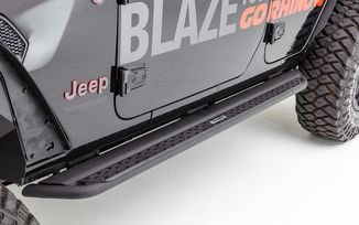 Side Step Dominator DSS, JL 4 Door (GRDSS4506T / JM-04685 / Go Rhino)
