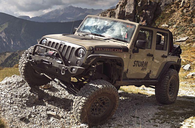 STORM-25, 2017 Jeep Wrangler Recon Rubicon 4 Door 3.6L V6