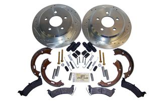Performance Brake Kit (Rear; Drilled & Slotted) ZJ (RT31033 / JM-01337 / RT Off-Road)