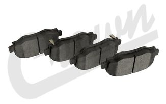 Brake Pad Set (Front) (68299399AA / JM-04243 / Crown Automotive)