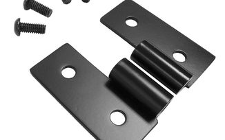 Lower Door Hinge Bracket Set (Black Stainless) (RT34092 / JM-03554 / RT Off-Road)