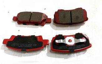 Rear Ceramic Brake Pad Set, MK 262mm (J3BM47541TF/ 5191271 / JM-05393 / Terrafirma)