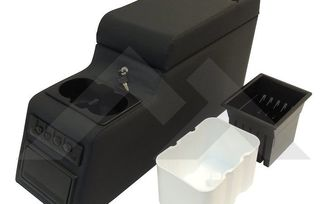 Deluxe Locking Center Console (Black Denim) (RT27009 / JM-01964 / RT Off-Road)