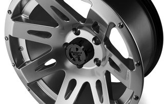 XHD Aluminum Wheel, Gun Metal, 17X9, JK (15301.30 / JM-02225 / Rugged Ridge)