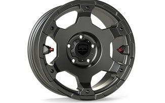 Nomad Wheel, 17X8.5 (ET0), Titanium Gray, JK / JL (1056159 / JM-05063 / TeraFlex)