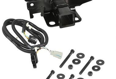 Receiver Hitch Kit with Wiring Harness, JK (11580.51 / JM-02625 / Rugged Ridge)