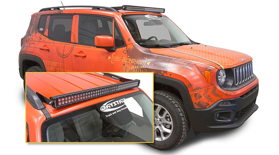 40 Led Light Bar Kit Renegade Kj81000bk Jeepey Jeep Parts Spares And Accessories