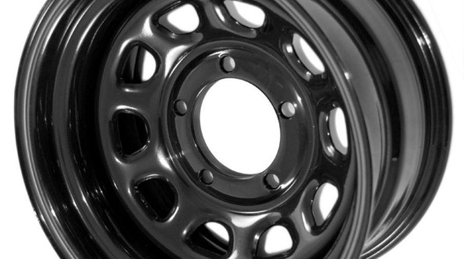 Steel Wheel 15 X 10 Black 15500 02 Jm 02220 Rugged