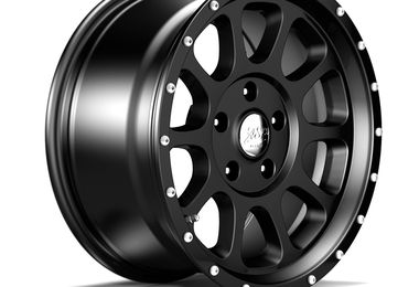 1450 Series Wheel, Black 17x8.5 (ET12) (1450.30 / JM-01222 / DuraTrail)