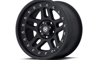 AX195, 17x9 (ET-12), Black (AX19579050612N / JM-04275 / ATX Series)