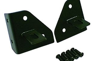 Windshield Light Mounting Brackets, CJ/YJ (11027.01 / JM-03021 / Rugged Ridge)