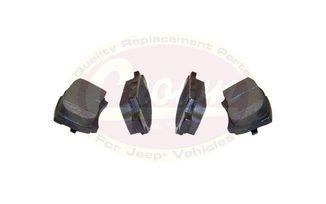 Brake Pad Set (Rear) (5191271AB / JM-03223 / Crown Automotive)