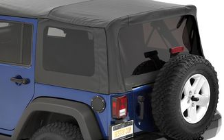 Tinted Window Kit, Black Diamond, JK 4dr (07-10) (58130-35 / JM-03026 / Bestop)