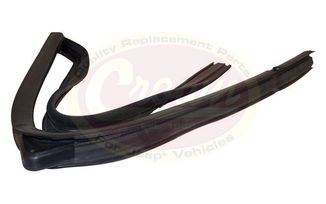 Door Glass Seal (Rear Right) (55136080AI / JM-03210 / Crown Automotive)