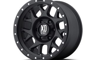Bully XD127, Black, 16x7, Renegade (XD12767042726 / JM-04035 / XD Series)