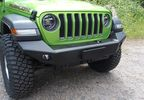 Front Recovery Bumper, Challenger with Winch Mount, Aluminium, JL (JL216 / JM-04698 / Rock's 4x4)