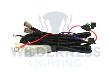 Wiring Loom, Double Deutsche Connectors (WDW0008 / JM-05198 / Wilderness Lighting)