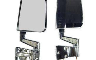 Door Mirror Kit - LED Turn Signals (11016.01 / JM-04579 / Rugged Ridge)