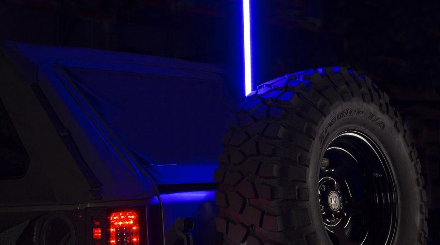 Cb Radio Illuminated Antenna Jk 1125022 Jeepey Jeep Parts