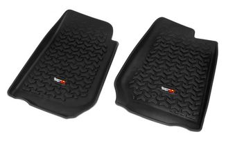 Floor Liners, Front, Black, JK RHD (12920.02 / JM-02178 / Rugged Ridge)