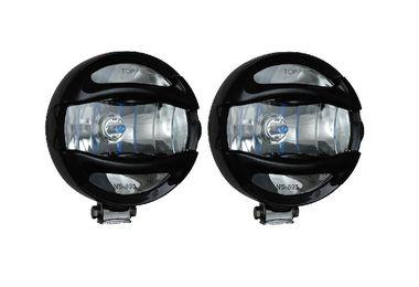 """6"""" Black 100 Watt Halogen Lamp x 2 w/ Guard (VX-T9000B / JM-01900 / Vision X lighting)"""