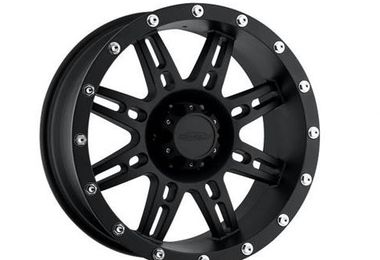 Series 7031 Alloy Wheel, 16X8 Black (7031-6865 / JM-02517 / Pro Comp)