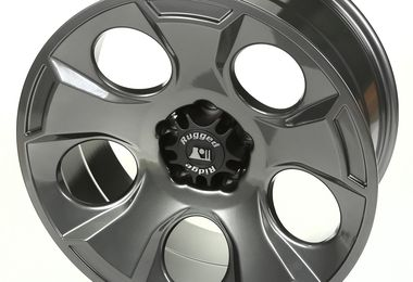 Drakon Wheel, 20x9, Gun Metal, JK (15304.30 / JM-02218 / Rugged Ridge)